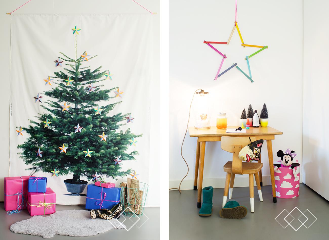 Kerst blog 2 - IKEA boom + tafeltje