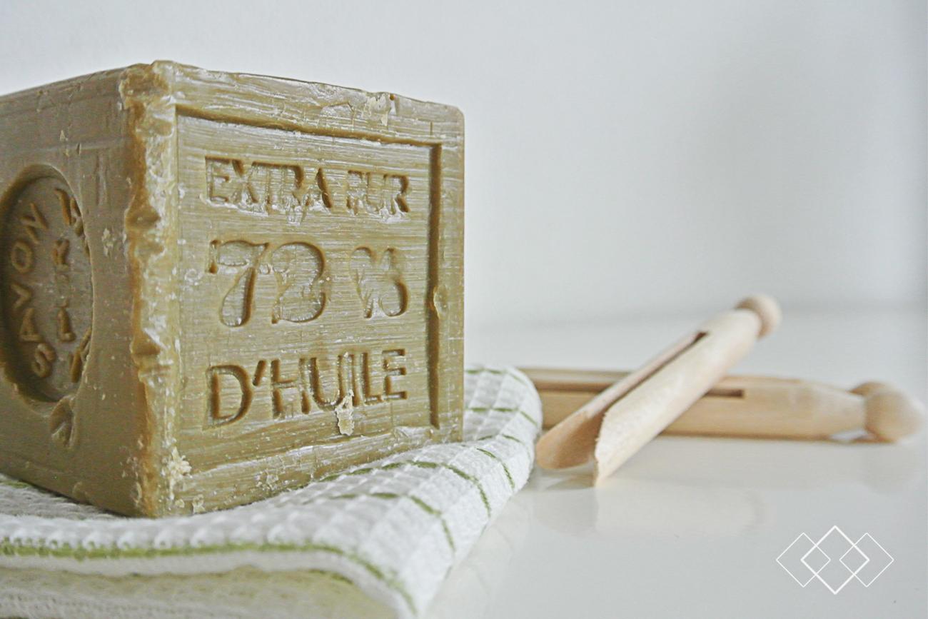 Wasmiddel - liggend zeepblok