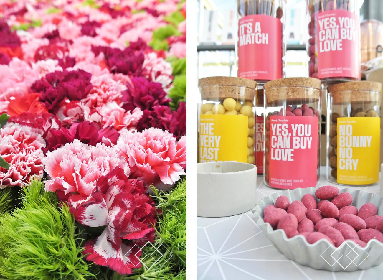 ShowUp - bloemen en snoep