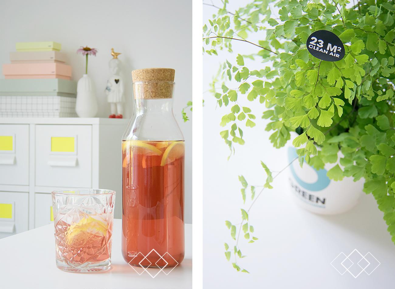 Ice tea - O Green - staand
