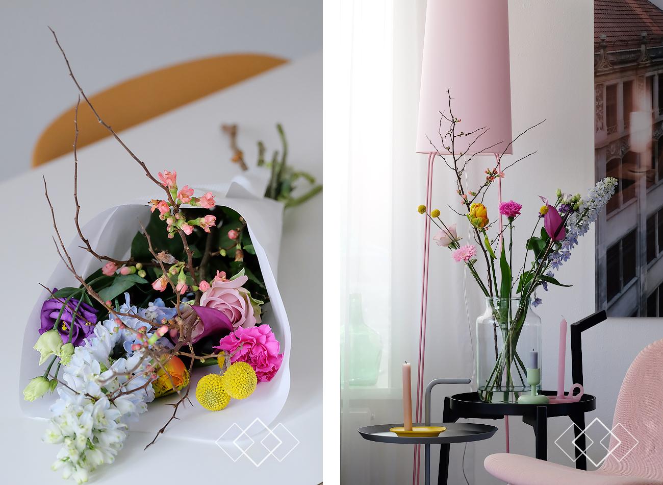 Blommen - staand 1