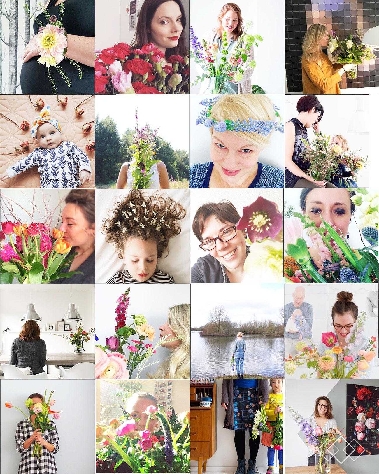 bloemenmeisjes